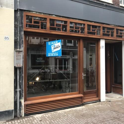 Een huurmakelaar in Amsterdam