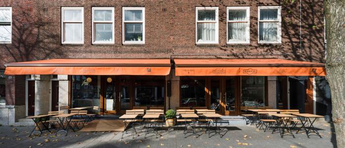 Ferilli's Caffé naar de Beethovenstraat